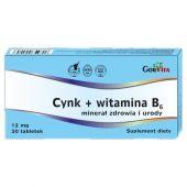 Cynk + witamina B6 30 tabletek
