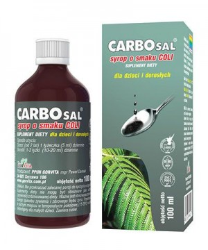 CARBOsal syrop 100ml