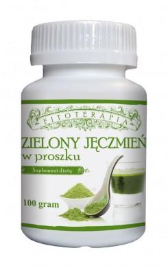 Zielony Jęczmień w proszku 100 gram