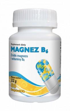 Magnez B6 60 kapsułek