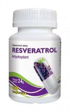Resveratrol 60 kapsułek